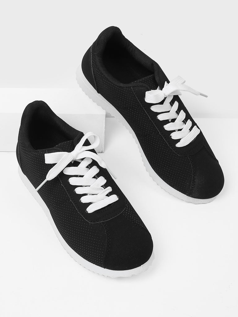 Low Top Lace Up Sneakers (3)