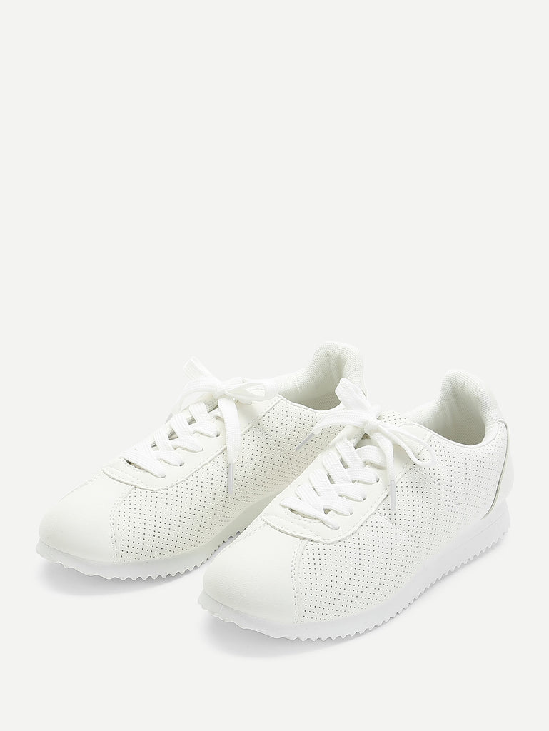 Low Top Lace Up Sneakers (2)