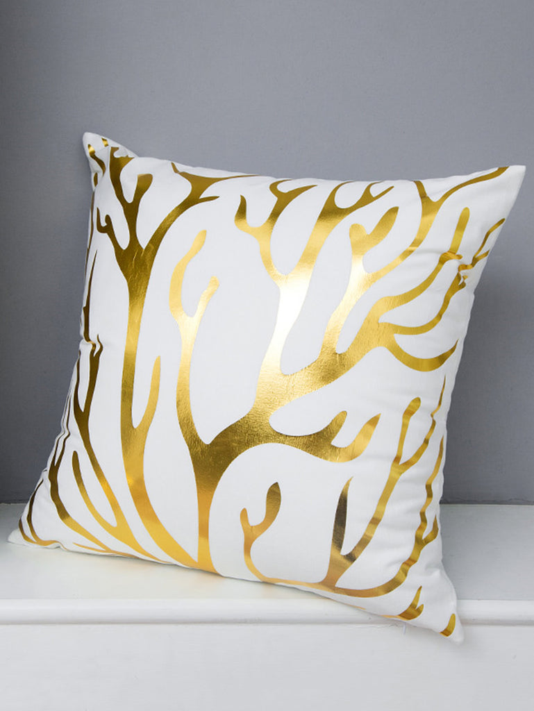 Tree Branches Print Decorative Pillowcase Cover