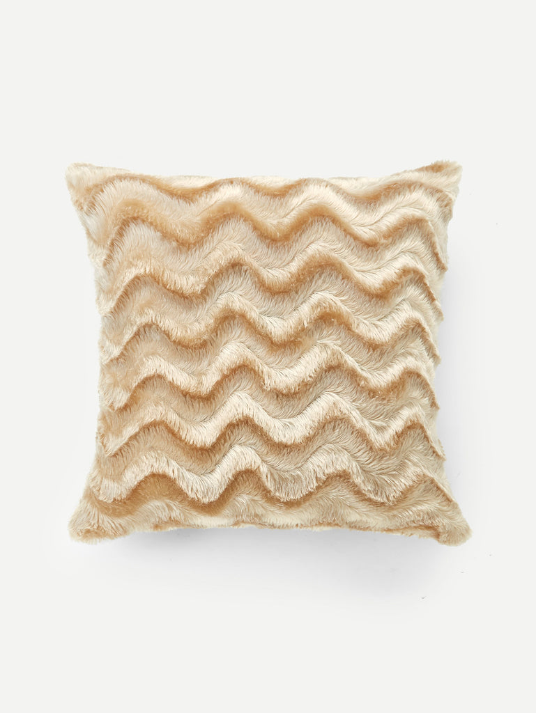 Chevron Faux Fur Pillow Case