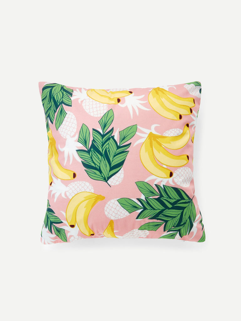 Banana Print Cushion Cover
