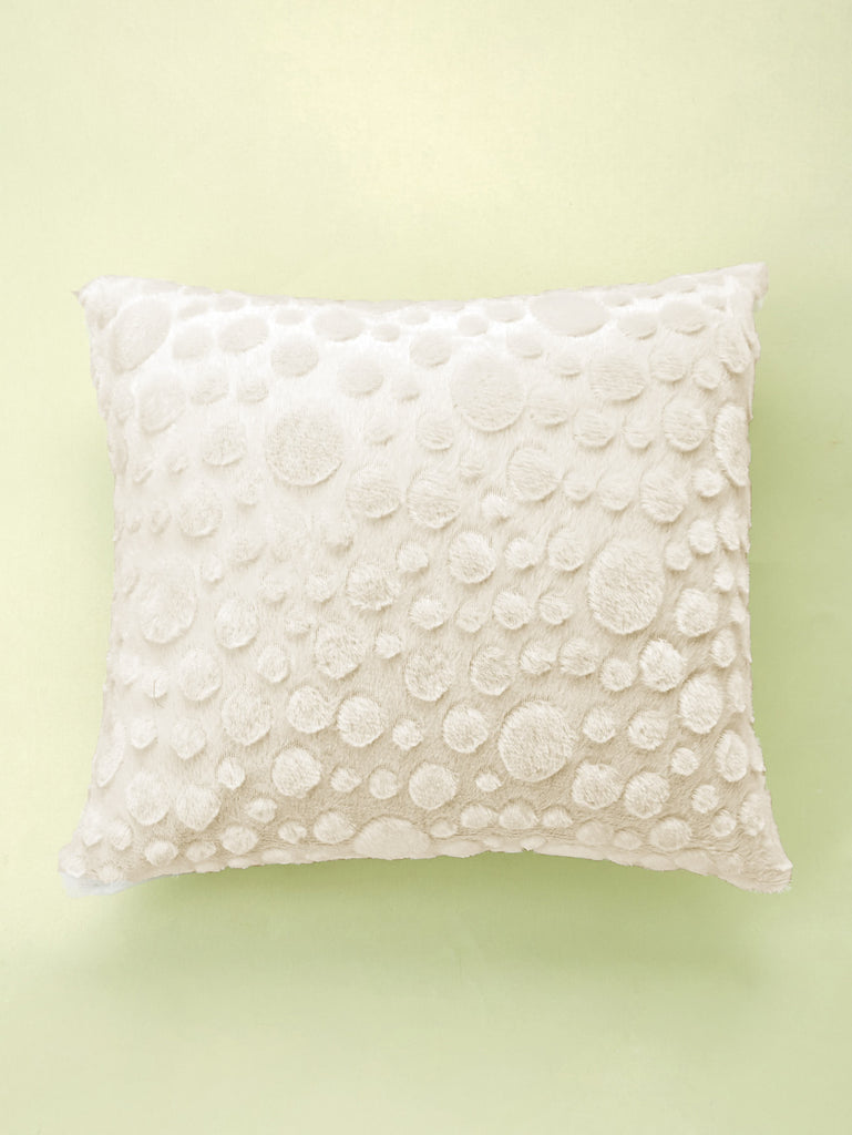Embossed Faux Fur Pillow Case