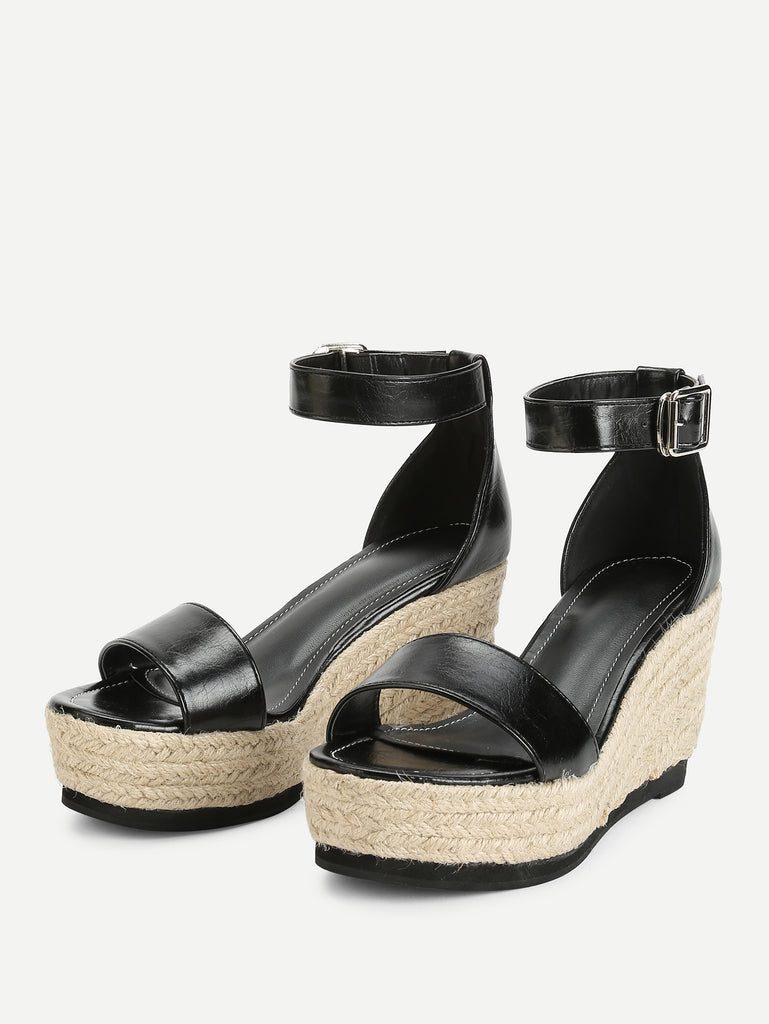 Ankle Strap Espadrille Wedges (2)