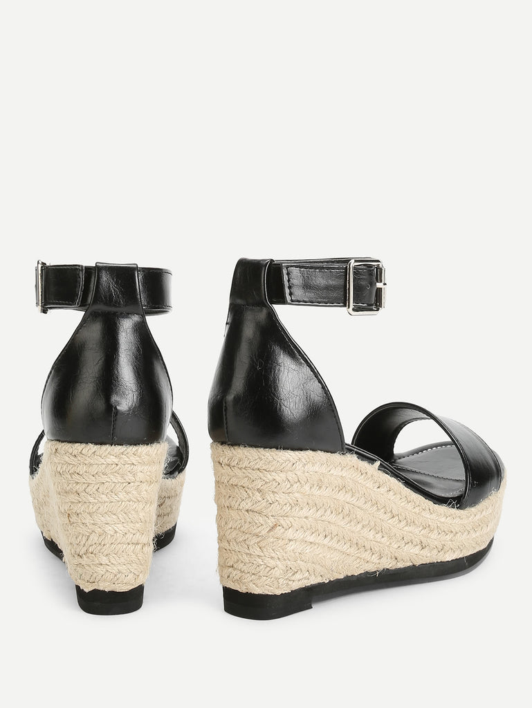 Ankle Strap Espadrille Wedges (3)