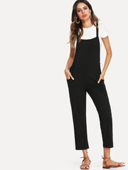 Criss Cross Back Pinafore Pants