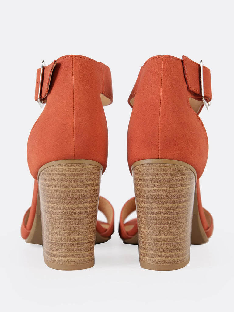 Ankle Strap Single Band Chunky Heel (3)