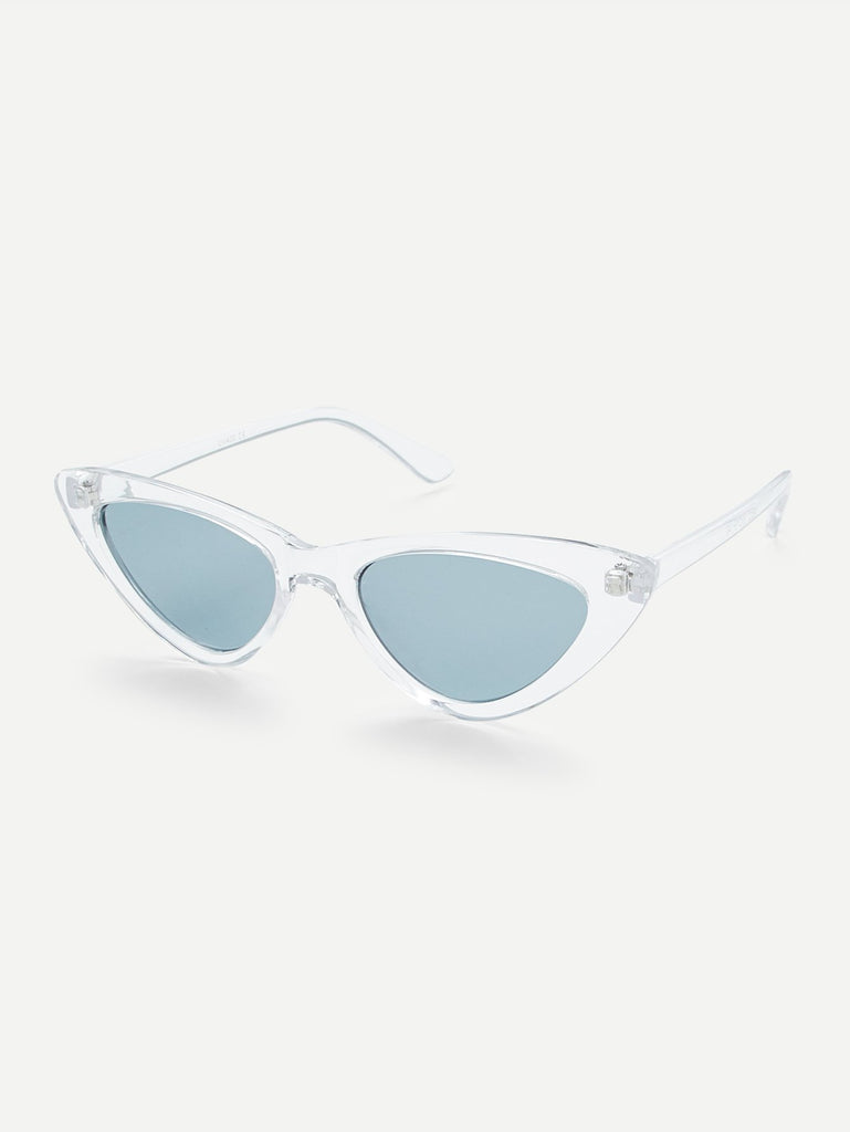 Clear Frame Cat Eye Sunglasses (3)