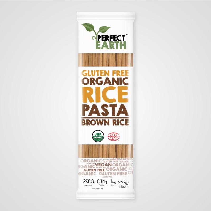 Perfect Earth Rice Pasta - Brown Rice