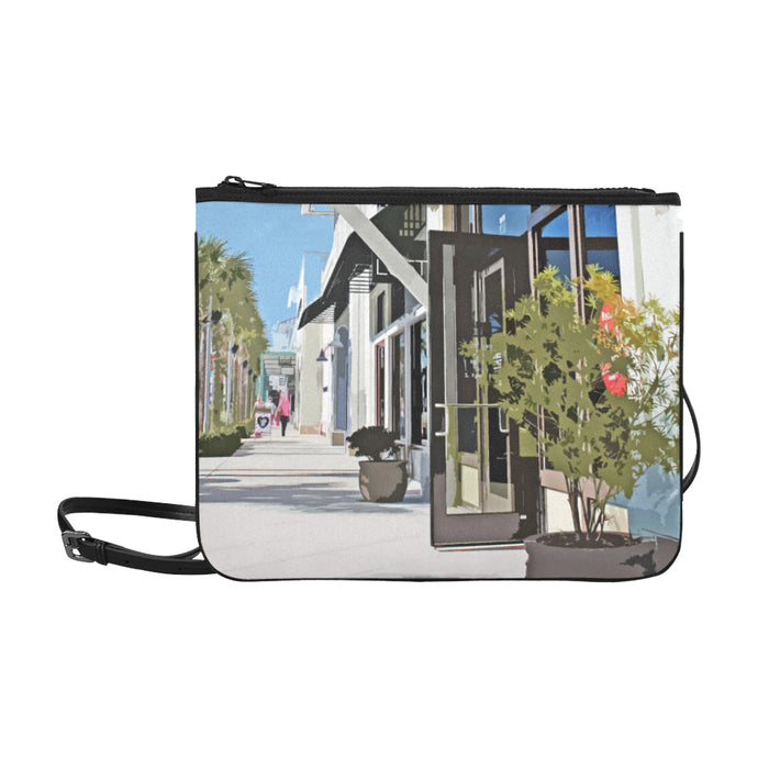 Downtown Slim Clutch Bag