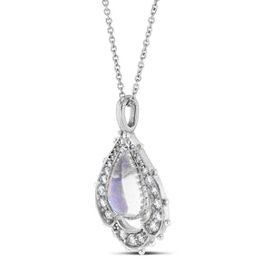 Chantilly Lace Pendant Necklace