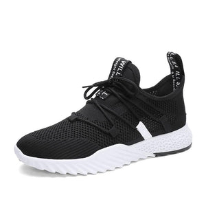 2019 New 4D Print Breathable Fly Weave Men's Sneakers