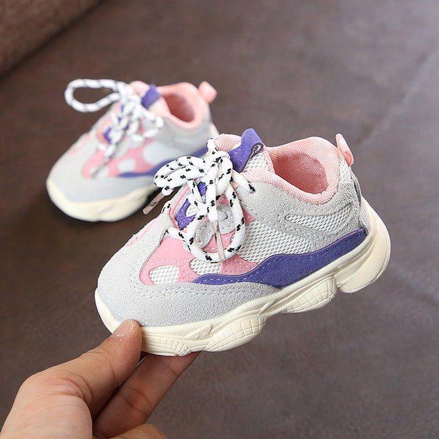 2019 Spring Autumn New Arrival Baby Soft Bottom Comfortable Sneaker