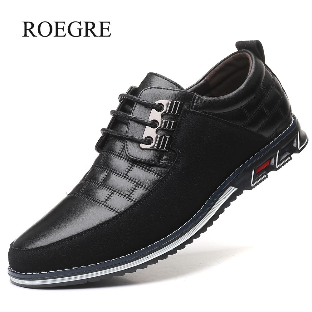 New Fashion Big Size Oxfords Leather Men's Shoes