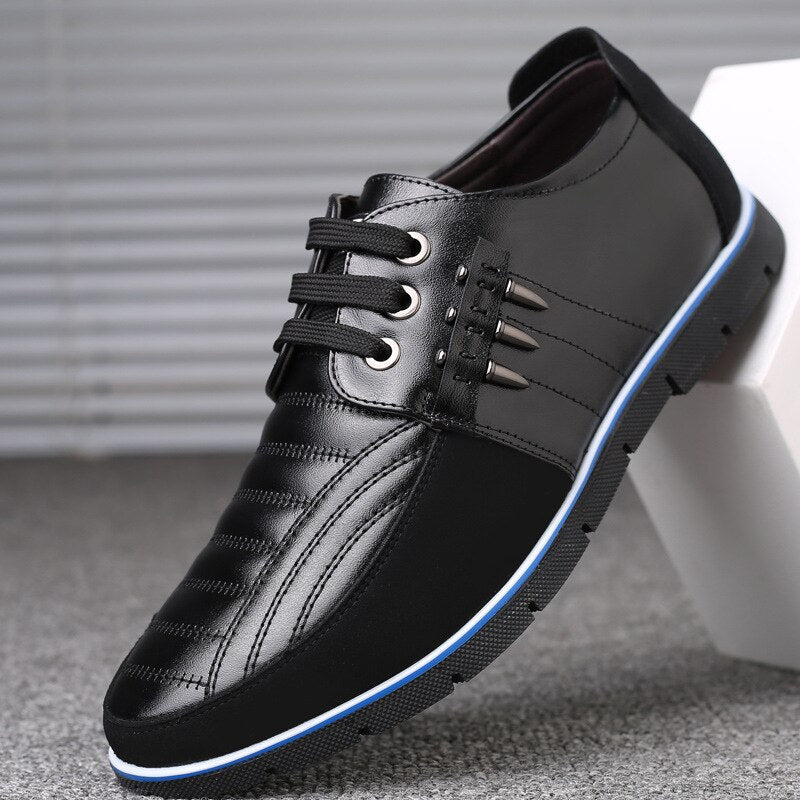 Men's Shoes - Autumn Leather Men Casual Shoes