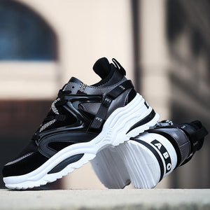 Men's Shoes-Brand Increasing Cushioning Breathable Men's Sneakers