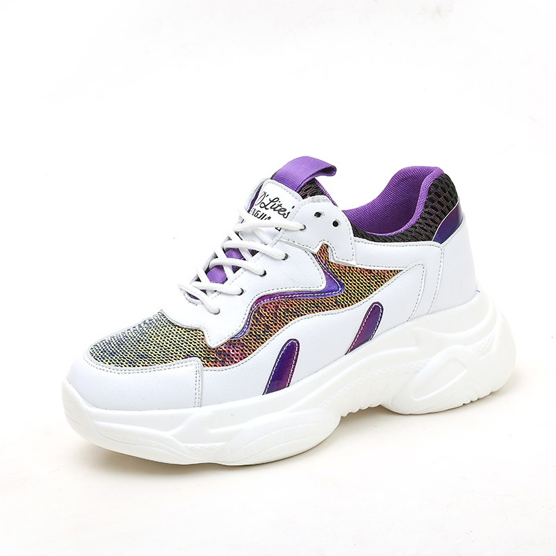 New Bling Chunky Women Sneakers