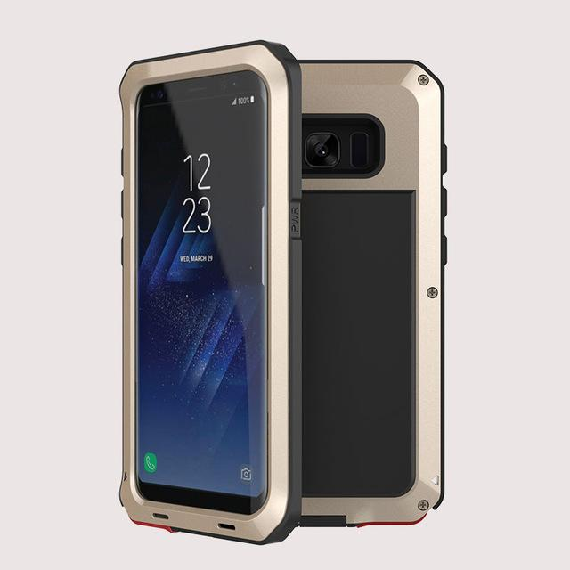 Luxury Doom Armor 360 Full Protect Shockproof Phone Case For S8/S9/S10