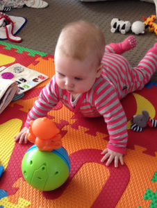 tummy time fun activity