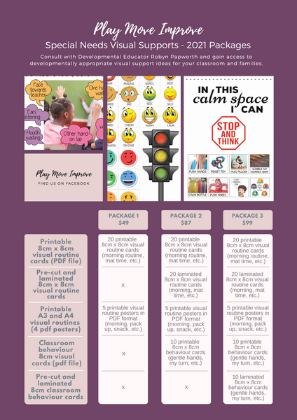visual support resources for autism