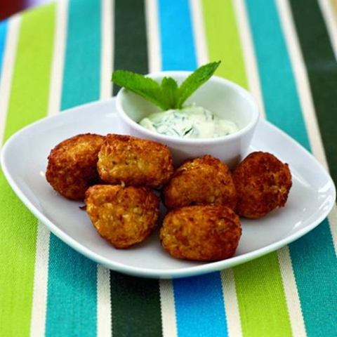 stephanie alexander cauliflower fritters