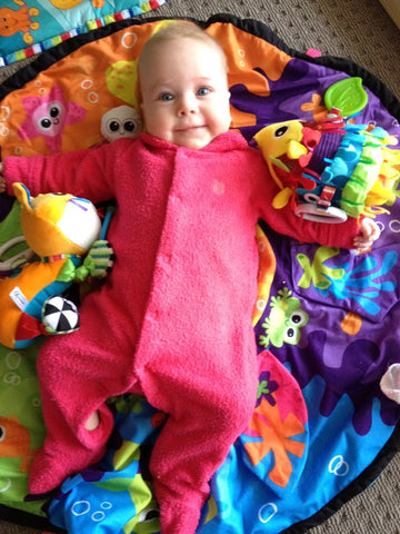child infant baby development play activity ideas