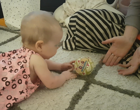 tummy time baby development neck strength activity