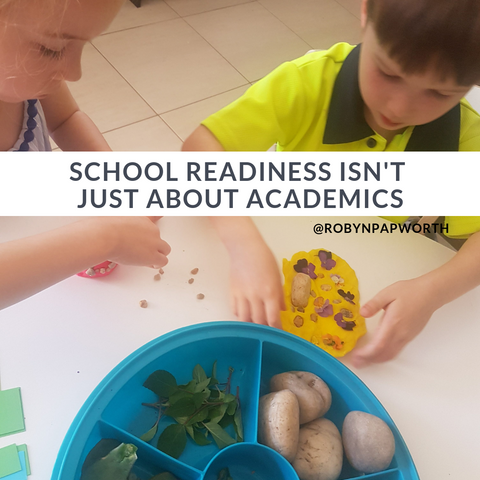 school readiness play based
