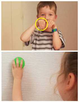 fine motor skill development wrist extension