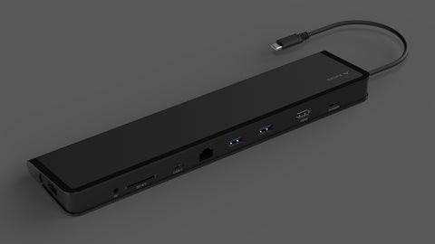 ChockDOCK v2 - USB-C Universal Laptop Docking Station - Juiced Systems