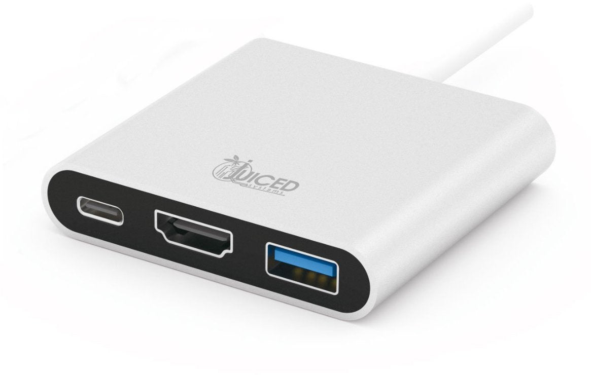 USB-C Multiport HDMI Display Adapter with Power Delivery - Juiced Systems