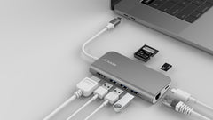 BizHUB - USB-C Multiport Gigabit HDMI Hub - Juiced Systems