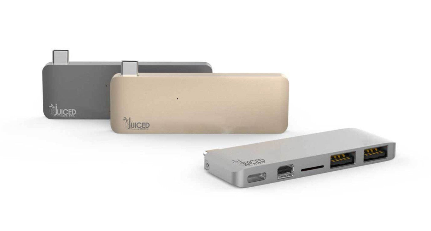 "USB-C Macbook 12"" Multifunctional Display Adapter - Juiced Systems"