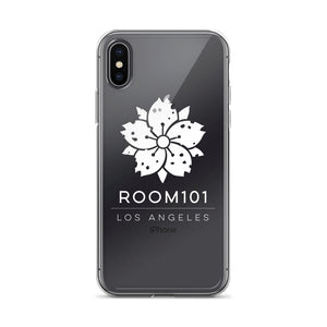 ROOM101 iPhone Case ( WHITE PRINT )