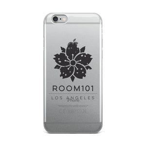 ROOM101 iPhone Case ( BLACK PRINT )