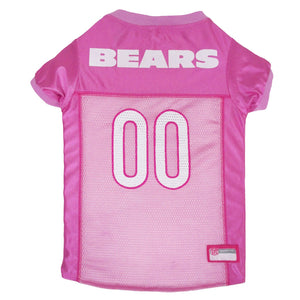 Chicago Bears Dog Jersey - Pink