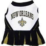 New Orleans Saints Cheerleader Dog Dress
