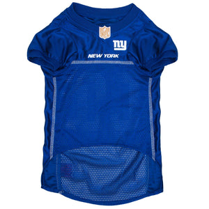 New York Giants Dog Jersey - Blue Trim