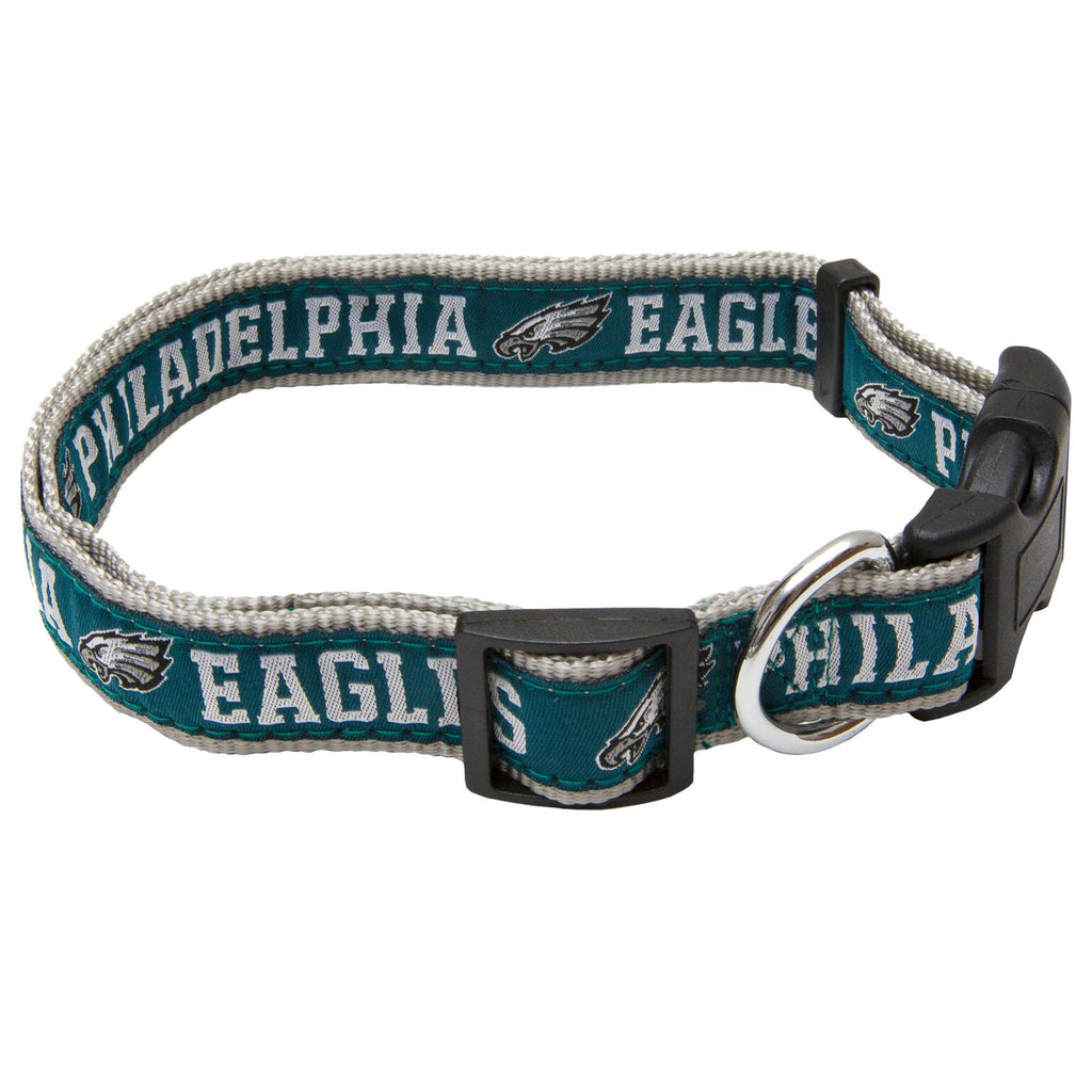 Philadelphia Eagles Dog Collar - Ribbon
