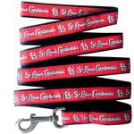 St Louis Cardinals Leash- Ribbon