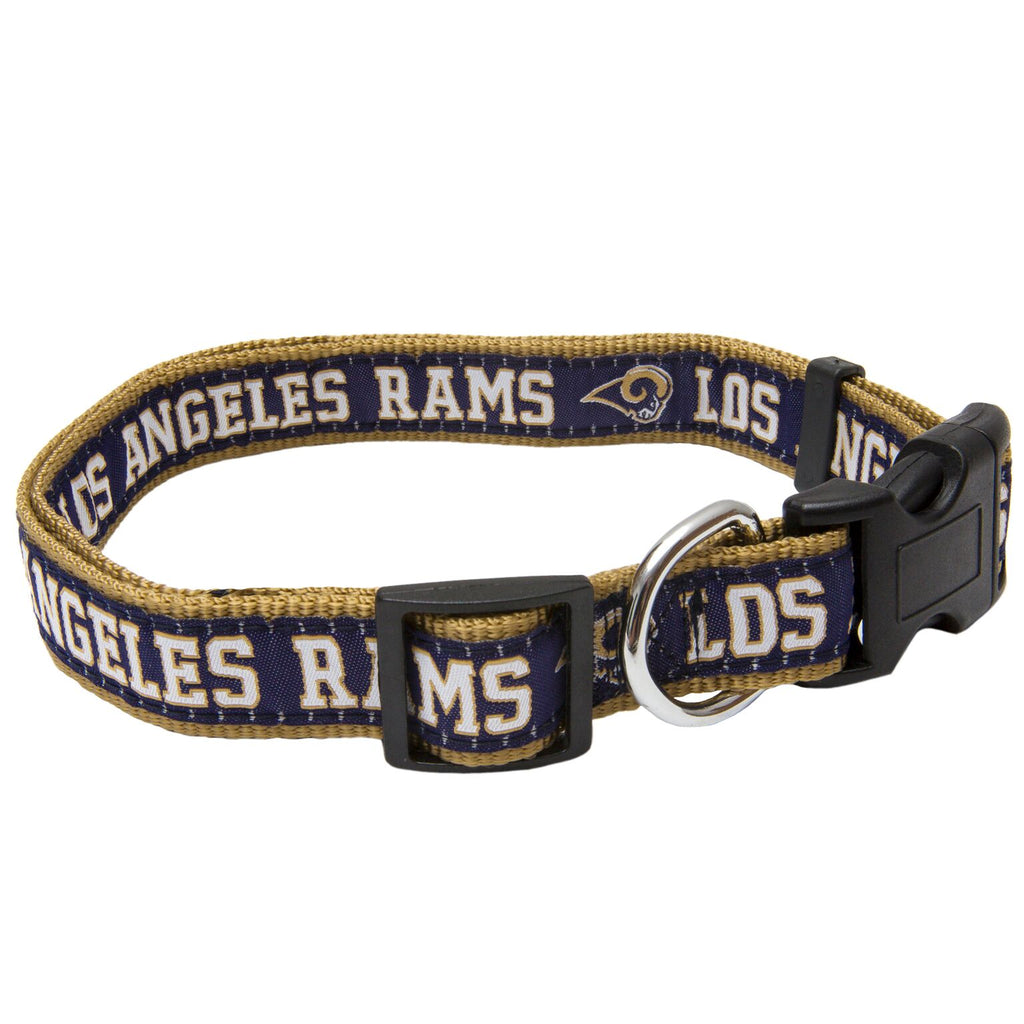 Los Angeles Rams Dog Collar - Ribbon
