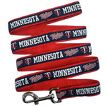 Minnesota Twins Leash- Ribbon