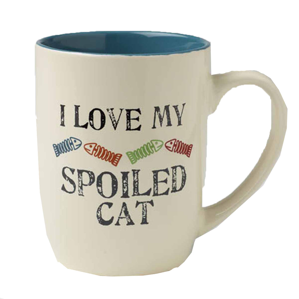 I Love My Spoiled Cat Mug
