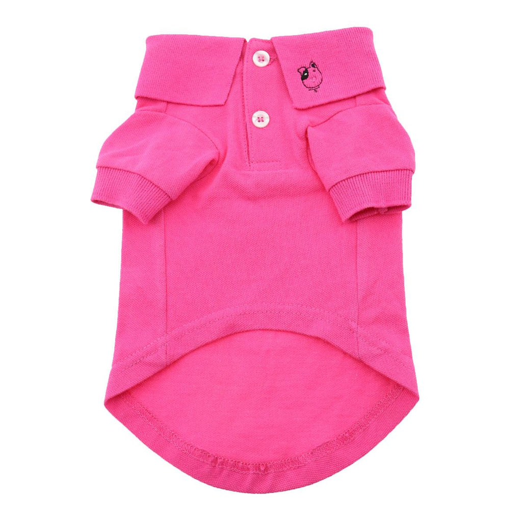 Solid Dog Polos by Doggie Design - Raspberry Sorbet