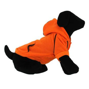Sport Dog Hoodie by Doggie Design - Orange Popsicle