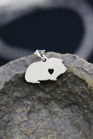 Personalized Guinea Pig Necklace