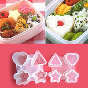 Four Shapes Sushi Rice Ball Mold