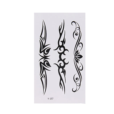 10 Sheets Fashion Temporary Tattoo Stickers