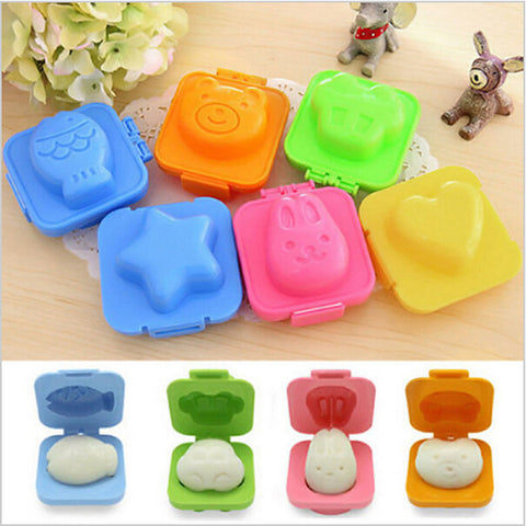 6pcs/set Boiled Egg Mold