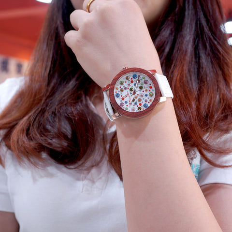 Image of 2018 Luxury Wooden Watch for Women