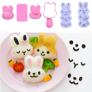 Rabbit-shaped Rice Ball Mold
